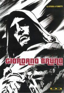 fumetto su Giordano Bruno