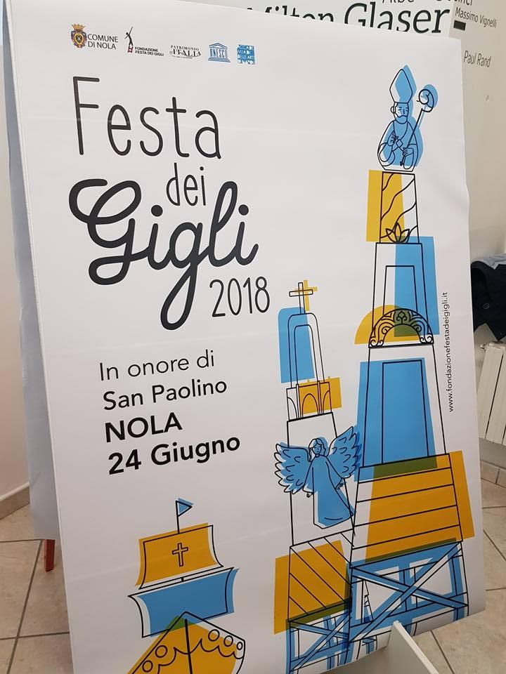 svelato a Napoli il manifesto 2018